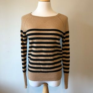 EUC-Halogen/ Nordstrom Cashmere Striped Sweater-S